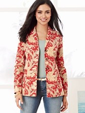 Floral Shaped Shirt-jacket