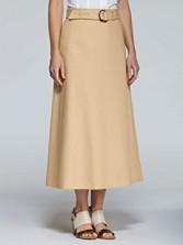 Arlington Canvas Long Skirt