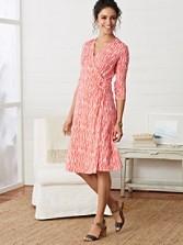 Zebra Print Breezeway Knit Dress