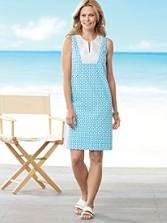 Geo Print Vista Dress
