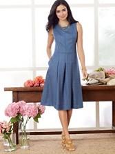 Wool-lin Michelle Dress