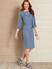 Seasonless Wool Park Avenue Dress