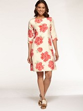 Amy Peony Print Dress