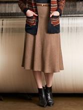 Corbett Herringbone Skirt