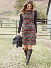 Mountain Majesty Kiwanda Dress