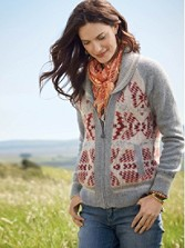 Mountain Zip Cardigan