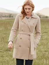Tweedy Sweater Trench