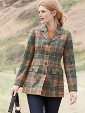 Plaid Rambler Jacket