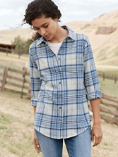 Ultra Fine Merino Classic Plaid Shirt