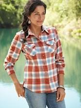 Ultrafine Merino Ranch Hand Plaid Shirt