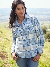 Ultrafine Merino Ranch Hand Plaid Shirt