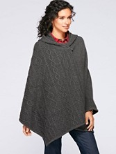 Hooded Cable Trim Cape