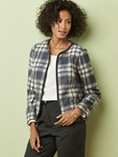 Plaid Darcy Jacket