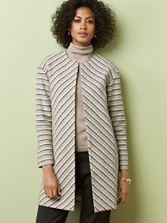 Chevron Stripe Jacket