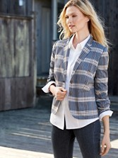 Riley Plaid Blazer