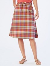 Plaid Alice Skirt
