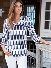 Arrow Stripe Tunic