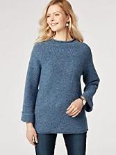 Pria Tweed Pullover
