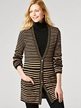 Horizon Stripe Cardigan