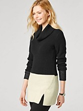 Ribbed Colorblock Tunic