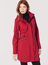 Hooded Zip Coat