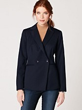 Seasonless Wool Double-breasted Jacket