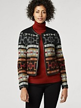 Pathfinder Jacquard Cropped Jacket