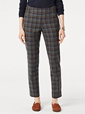 Riverdale Plaid Ankle Pants