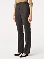 Worsted Flannel Straight Leg Pants