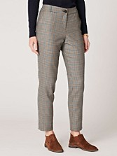 Worsted Flannel Slim Ankle Pants
