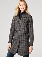 Riverdale Plaid Shirtdress