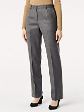 Worsted Flannel True Fit Trousers