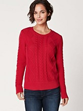 Clarke Cable Pullover