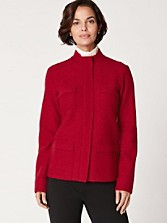 Lindsey Boiled Wool Jacket