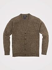Shetland Washable Wool Cardigan