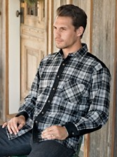 Washable Umatilla Wool Santiam Shirt