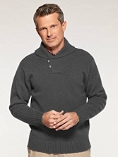 Irvington Shawl Collar Pullover