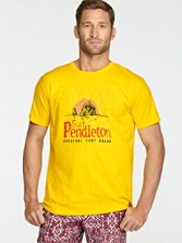 Fitted Pendleton Logo Tee