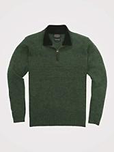 Shetland Quarter-zip Pullover