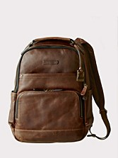 Leather Logan Backpack