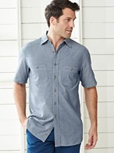 Short Sleeve Fitted Berkeley Shirt
