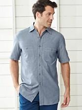 Short Sleeve Fitted Berkeley Shirt