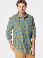 Beach Shack Cotton Twill Shirt