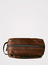 Leather Logan Travel Kit