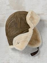 Corbett Leather Trapper Hat
