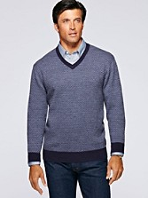 Merino Herringbone Sweater