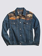 Land Of The Buffalo Jean Jacket