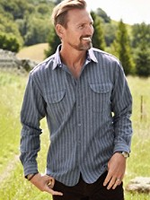 Fitted Stripe Buckley Shirt