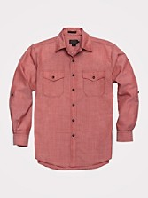 Fitted Blaine Chambray Shirt