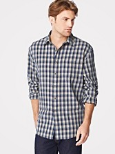 Fitted Tennyson Plaid Shirt